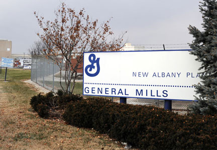 General Mills Pillsbury plant in New Albany, Indiana