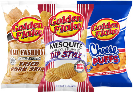Golden Flake snacks