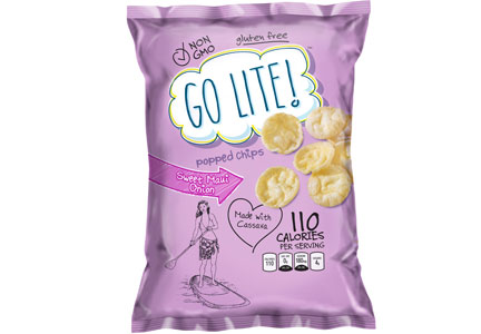 Go Lite popped chips