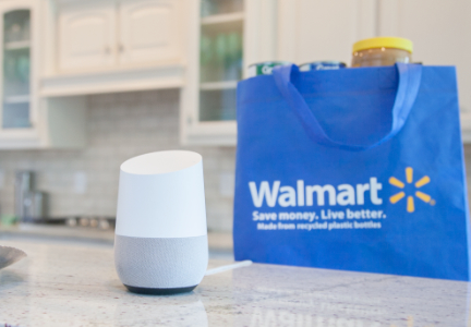 Google Wal-Mart partnership, Google Home