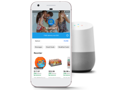 Google Wal-Mart partnership, Google Home and iPhone