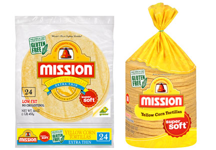 Gruma Mission corn tortillas