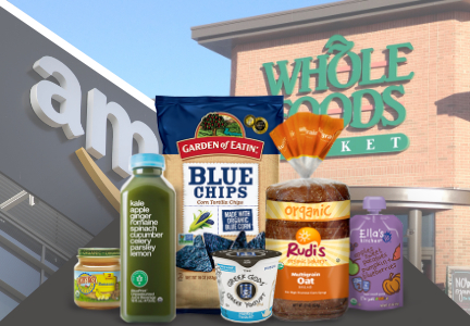 Hain Celestial, Amazon, Whole Foods