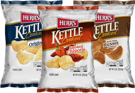 Herr's kettle cooked chips