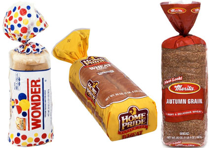 Hostess brand bread