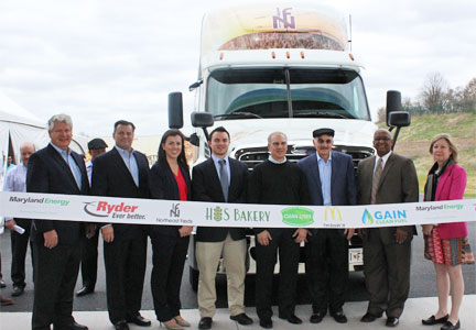 H&S Bakery GAIN Clean Fuel station in Baltimore