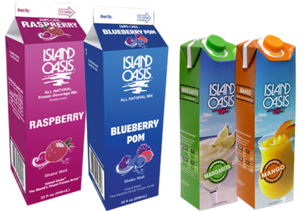 Island Oasis drink mixes