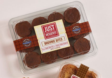Just Desserts Ghiradelli brownie bites