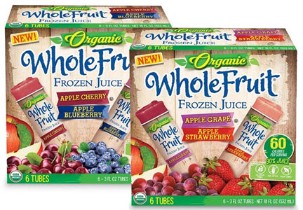 J&J Snack Foods Whole Fruit frozen juice pops