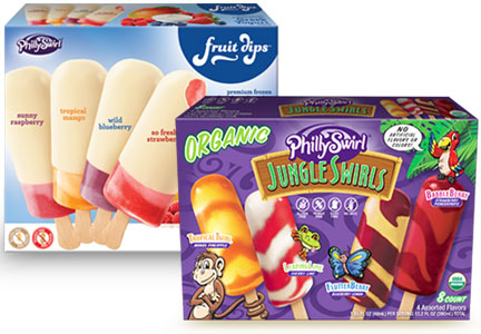 Philly Swirl products, J&J Snack Foods