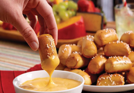 J&J Snack Foods food service soft pretzel nuggets