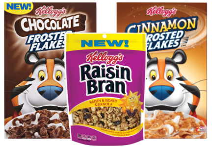 Kellogg cereal innovation