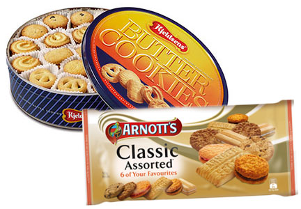 Kelsens and Arnott's cookies, Campbell Soup