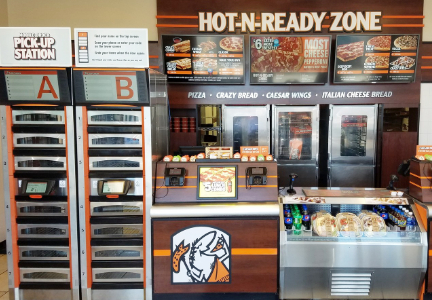 Little Caesars Pizza Reserve-N-Ready system