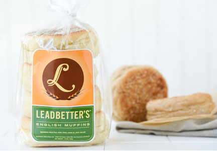Leadbetter's Bakeries English muffins