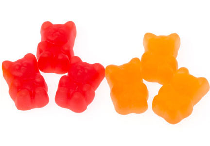 Lycored gummy bears