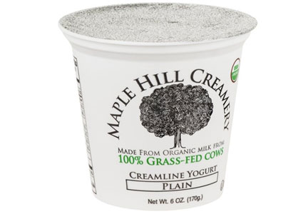 Maple Hill Creamery grass-fed yogurt