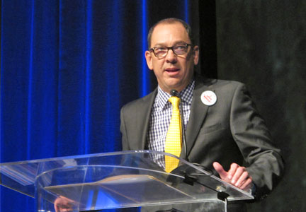 Mario Somoza, the new chairman of the American Society of Baking