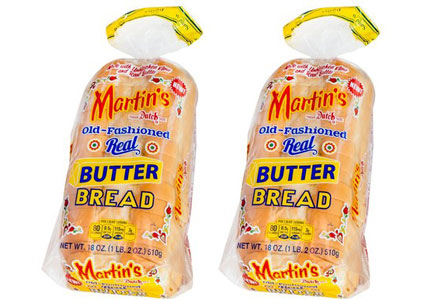 Martin's real butter bread
