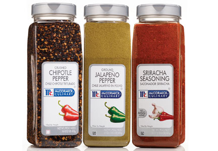 McCormick food service spices