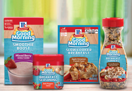 McCormick breakfast products