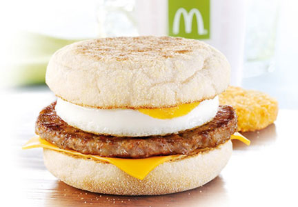 McDonald's egg mcmuffin
