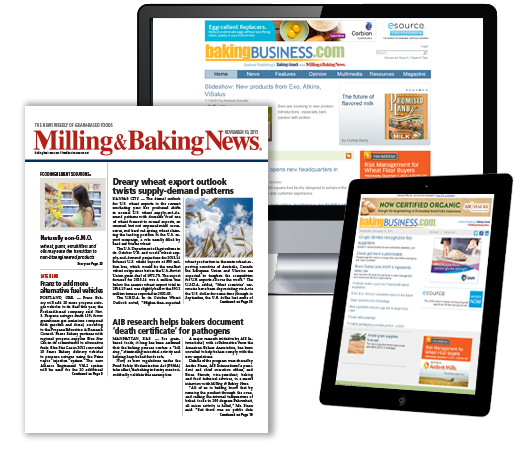 Milling & Baking News Magazine, Website and an example of a newsletter