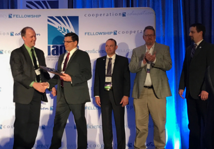 "After accepting the award, Wiechman, who is based ADM Milling's mill in Enid, Oklahoma, U.S., said: ""ADM has given me a great opportunity,"" he said. ""Throughout my career I have learned more every day from everyone than what I add."""