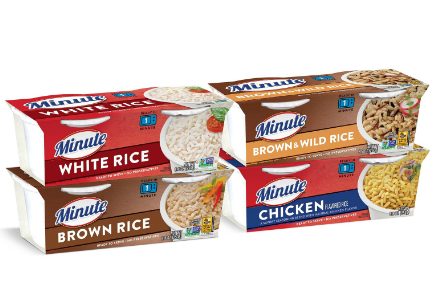 Minute Rice makeover, Riviana Foods