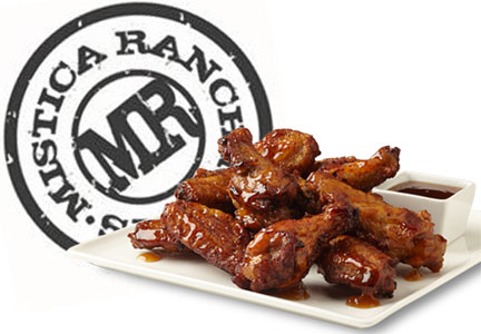 Mistica Ranch Meats chicken wings
