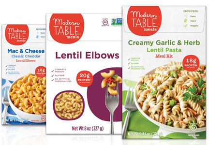 Modern Table reformulated products and new mac and cheese