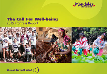Mondelez 2015 progress report