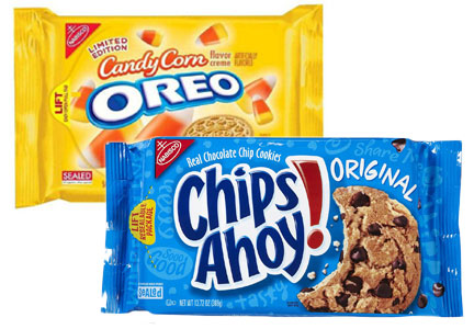 Mondelez cookies - Oreo and Chips Ahoy!