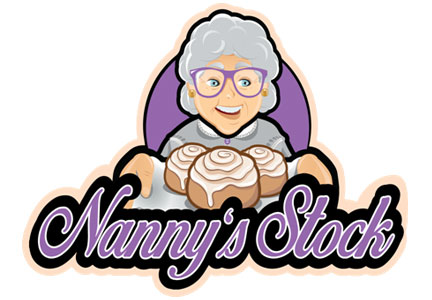 Nanny's Stock wholesale bakery logo