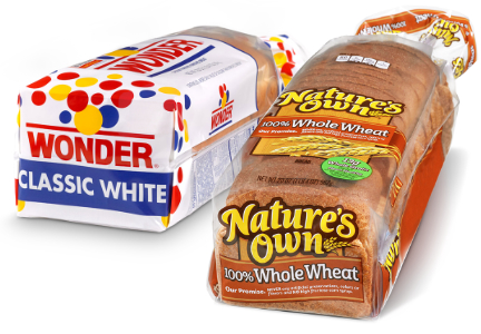 Nature's Own bread and Wonder bread, Flowers Foods