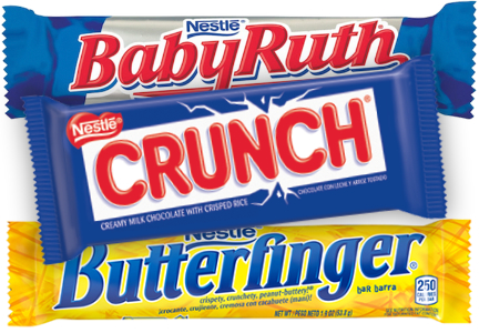 Nestle candy bars