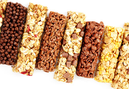 Nutrition Bars from thinkThin, goodnessknows, Kind, Sahale