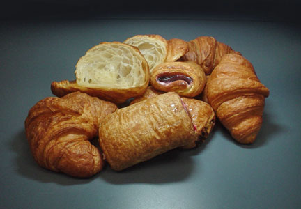 Orange Bakery croissants
