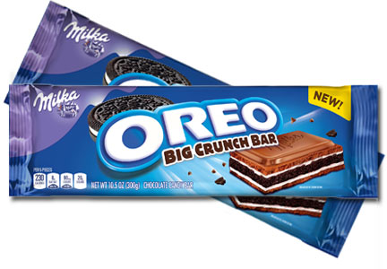 Milka Oreo Big Crunch Chocolate Candy Bar