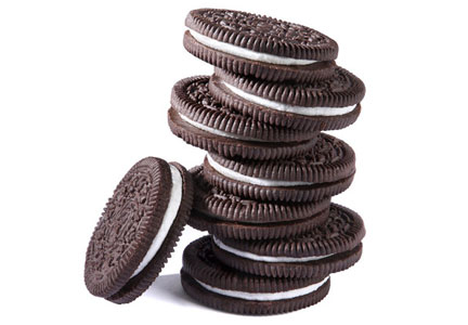 Stack of Oreo cookies, Mondelez