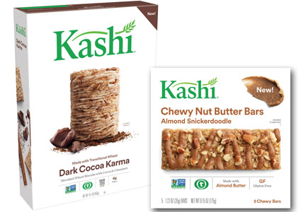 Certified transitional organic Kashi products