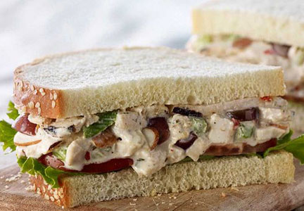 Panera chicken salad sandwich