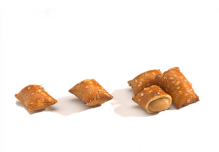 Peanut butter filled pretzel nuggets, Pretzels, Inc.