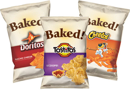 PepsiCo Baked Cheetos, Doritos, Tostitos