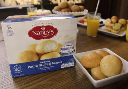 Nancy's Petite Stuffed Bagels