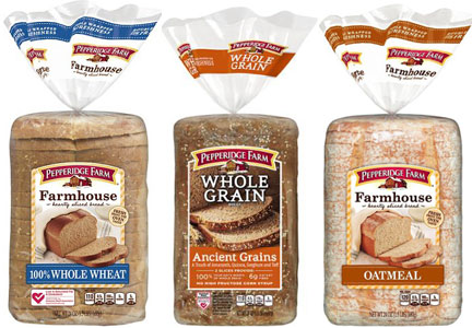 Pepperidge Farms breads