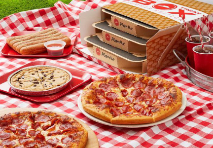 Pizza Hut Triple Treat Box summer edition