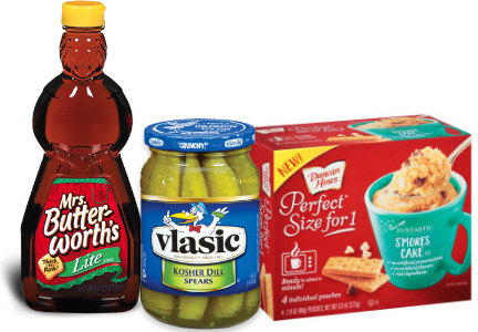 Pinnacle Foods - Mrs. Butterworth's, Vlasic, Duncan-Hines