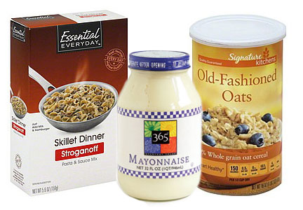 Private label products, TreeHouse Foods