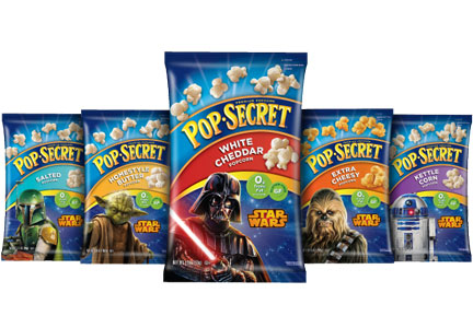 Pop Secret Disney popcorn, Diamond Foods, Snyder's-Lance